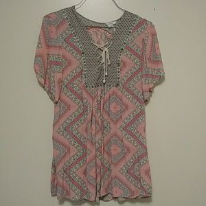 Loose Fitting BOHO Mini Dress or Tunic